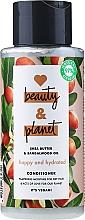 """Parfumuri și produse cosmetice Balsam de păr """"Fericire și Hidratare"""" - Love Beauty And Planet Gentle Cleansing Conditioner"""