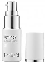 Parfumuri și produse cosmetice Ser facial cu platină - ForLLe'd Hyalogy Platinum Essence