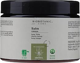 Parfumuri și produse cosmetice Balsam cu ulei din semințe de cânepă pentru păr - BioBotanic Silk Wave Hemp Balm