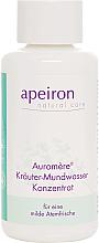 Parfumuri și produse cosmetice Clătitor-Concentrat pentru gură - Apeiron Auromere Herbal Mouthwash Concentrate