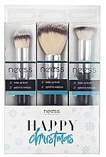 Parfumuri și produse cosmetice Set pensule pentru machiaj - Neess
