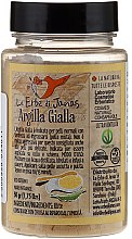 Parfumuri și produse cosmetice Argilă galbenă pentru față - Le Erbe di Janas Green Yellow Clay (în borcan)