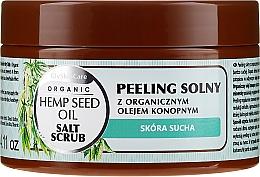 Parfumuri și produse cosmetice Scrub de sare pentru corp, cu extract organic de cânepă - GlySkinCare Hemp Seed Oil Salt Scrub