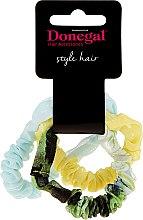 Parfumuri și produse cosmetice Elastice de păr Hair Band Amazing, FA-5531, 3 buc - Donegal