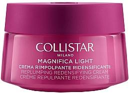Parfumuri și produse cosmetice Cremă pentru față și gât - Collistar Magnifica Light Replumping Redensifying Cream Face And Neck (тестер)