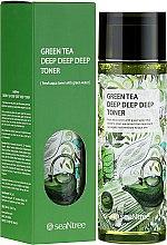 Parfumuri și produse cosmetice Toner cu extract de ceai verde - SeaNtree Green Tea Deep Deep Deep Toner
