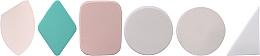 Parfumuri și produse cosmetice Bureți din latex pentru machiaj, 498982, 24 buc - Inter-Vion №1