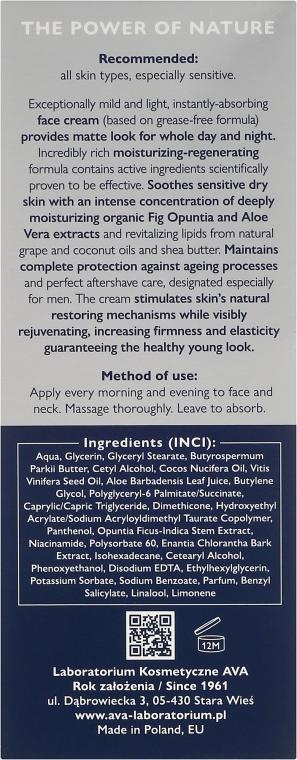 Cremă după ras - Ava Laboratorium Eco Men Cream — Imagine N3