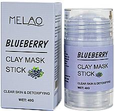 """Parfumuri și produse cosmetice Mască-stick pentru față """"Blueberry"""" - Melao Blueberry Clay Mask Stick"""