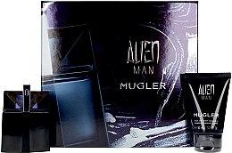 Parfumuri și produse cosmetice Mugler Alien Man Gift Set - Set (edt/50ml+b/shm/50ml)