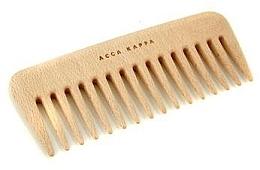 Parfumuri și produse cosmetice Pieptene - Acca Kappa Small Wooden Comb