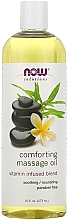 Parfumuri și produse cosmetice Ulei calmant pentru masaj - Now Foods Solutions Comforting Massage Oil