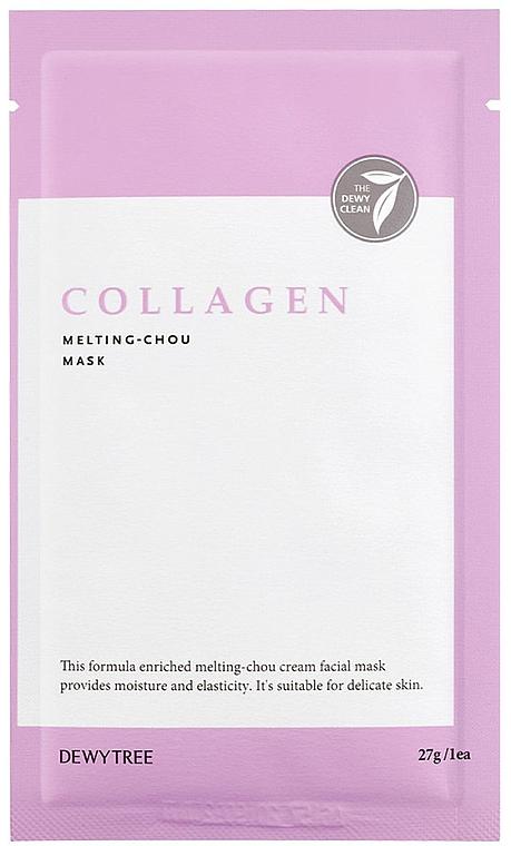 Mască de colagen pentru față - Dewytree Collagen Melting Chou Mask