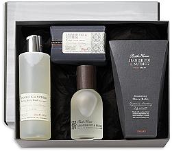 Parfumuri și produse cosmetice Bath House Spanish Fig and Nutmeg - Set (edc/100ml + sh/gel/260ml + shave/balm/100ml + soap/150g)