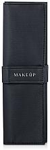 """Parfumuri și produse cosmetice Husă pentru 10 pensule, neagră """"Basic"""" - Makeup"""