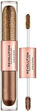 Parfumuri și produse cosmetice Fard lichid pentru ochi - Makeup Revolution Eye Glisten
