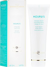 Parfumuri și produse cosmetice Mască regenerantă pentru zona ochilor - Methode Jeanne Piaubert Nourilys Nutri Repair Mask Serum Face & Eyes