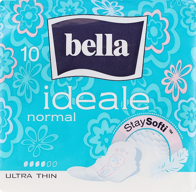 Absorbante Ideale Ultra Normal StaySofti, 10 bucăți - Bella