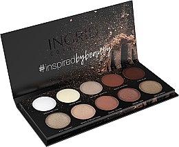 Parfumuri și produse cosmetice Paletă de farduri de ochi - Ingrid Cosmetics Nude Matt & Glam Palette