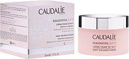 Parfumuri și produse cosmetice Cremă de noapte modelatoare - Caudalie Resveratrol Lift Night Infusion Cream