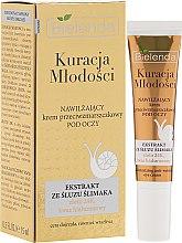 Parfumuri și produse cosmetice Cremă pentru conturul ochilor - Bielenda Kuracja Mlodosci Eye Cream