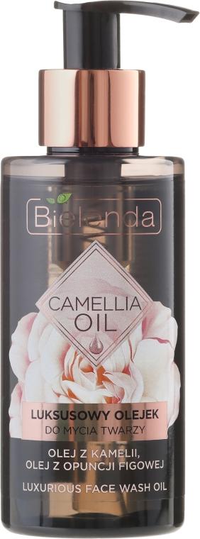Ulei de curățare pentru față - Bielenda Camellia Oil Luxurious Cleansing Oil