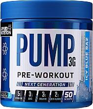 Parfumuri și produse cosmetice Amestec multicomponent de 12 substanțe pentru a susține funcția musculară și fluxul sanguin - Applied Nutrition Pump 3G Zero Stimulant Icy Blue Raz