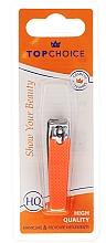 Духи, Парфюмерия, косметика Кусачки для ногтей 76947, неоновые, оранжевые - Top Choice Colours Nail Clippers