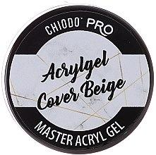 Parfumuri și produse cosmetice Gel pentru unghii - Chiodo Pro Acryl Gel Cover Beige