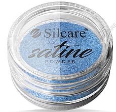 Parfumuri și produse cosmetice Pudră de unghii - Silcare Satine Powder