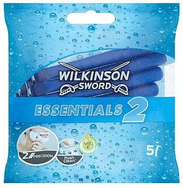 Set Aparat de ras de unică folosință - Wilkinson Sword Essentials 2 — Imagine N1