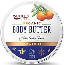 """Parfumuri și produse cosmetice Ulei de corp """"Crăciun"""" - Wooden Spoon Christmas Time Body Butter"""