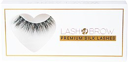 Parfumuri și produse cosmetice Gene false - Lash Brow Premium Silk Lashes Wow Lashes