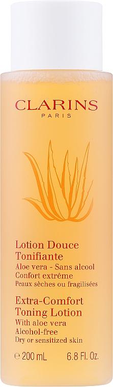 Loțiune tonifiantă pentru față - Clarins Extra-Comfort Toning Lotion