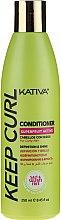Parfumuri și produse cosmetice Balsam pentru păr ondulat - Kativa Keep Curl Conditioner