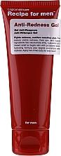 Parfumuri și produse cosmetice Gel hidratant și calmant pentru față - Recipe For Men Anti-Redness Gel
