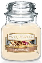 Lumânare în borcan - Yankee Candle Belgian Waffles — Imagine N2