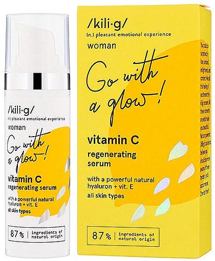 Регенерирующая сыворотка для лица с витамином С - Kili·g Woman Vitamin C Regenerating Serum — фото N1