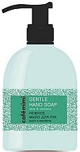 """Parfumuri și produse cosmetice Săpun delicat pentru mâini """"Aloe și Verbena"""" - Cafe Mimi Gentle Hand Soap"""