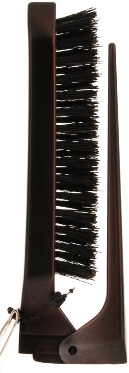 Pietene pliabil cu trei rânduri, peri combinați - Olivia Garden Style UP Mixed — Imagine N1