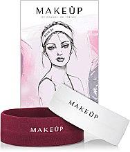"""Parfumuri și produse cosmetice Set """"Bandaje cosmetice"""" - MakeUp Marsala & White"""