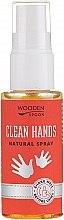 Parfumuri și produse cosmetice Spray antibacterian pentru mâini - Wooden Spoon Clean Hands Natural Spray