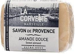 """Parfumuri și produse cosmetice Săpun provensal """"Migdale dulci"""" - La Corvette Provence Sweet Almond"""