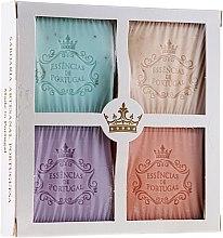 Parfumuri și produse cosmetice Set - Essencias De Portugal Aromas Collection (soap/4x80g)