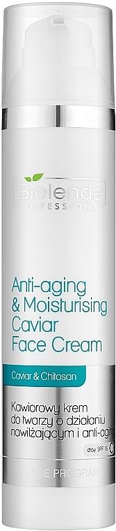 Cremă de întinerire și întărire pentru față cu caviar - Bielenda Professional Face Program Anti-Aging & Moisturising Caviar Face Cream