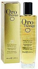 Parfumuri și produse cosmetice Fluid pentru păr - Fanola Oro Therapy Fluido Oro Puro