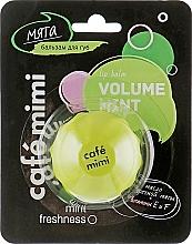 """Parfumuri și produse cosmetice Balsam de buze """"Mentă"""" - Cafe Mimi Lip Balm Volume Mint"""