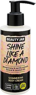"""Cremă cu străluci pentru corp """"Shine Like A Diamond"""" - Beauty Jar Shimmering Body Cream — Imagine N1"""