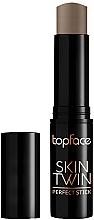 Parfumuri și produse cosmetice Corector-stick pentru față - Topface Skin Twin Perfect Stick Contour
