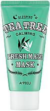 Духи, Парфюмерия, косметика Ночная маска с чайным деревом - A'pieu Fresh Mate Tea Tree Mask